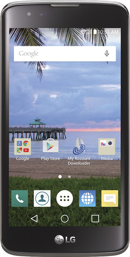 NET10 - LG L52VL 4G LTE with 8GB Memory Prepaid Cell Phone