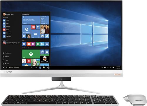 Lenovo - 510S-23ISU 23 Touch-Screen All-In-One - Intel Core i5 - 8GB Memory - 1TB+8GB Hybrid Hard Drive - Black, Silver