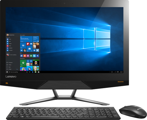 Lenovo - 700-22ISH 21.5 Touch-Screen All-In-One - Intel Pentium - 8GB Memory - 1TB Hard Drive - Black