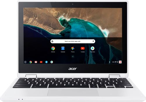 Acer - R 11 2-in-1 11.6 Touch-Screen Chromebook - Intel Celeron - 4GB Memory - 16GB eMMC Flash Memory - White
