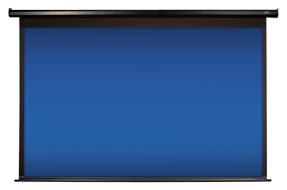 Elite Screens - Spectrum 125 Motorized Projector Screen - Black