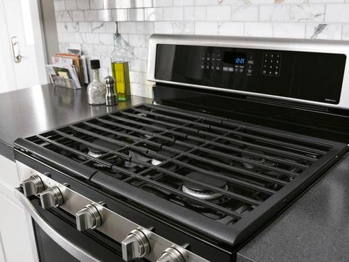 Whirlpool 60 Cu Ft Self Cleaning Freestanding Double Oven Gas