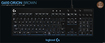 Logitech - G610 Orion Brown Backlit Mechanical Gaming Keyboard - Black