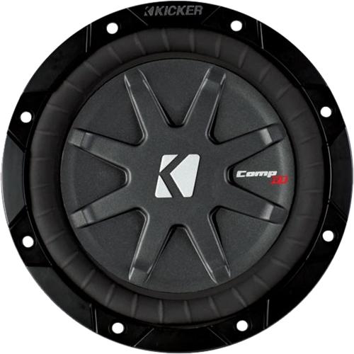 """Kicker - Comprt 6.75"""" Dual-voice-coil 2-ohms Subwoofer - Bla"""