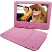 "Sylvania - 9"" Portable Dvd Player - Pink 5211832"