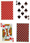 Trademark Games - Copag Plastic Poker-Size Playing Cards - Multi