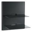 OmniMount - Blade2 Wall Furniture Shelves - Black