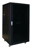 OmniMount - 18-Space A/V Rack - Black