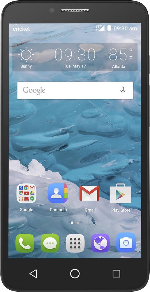 Cricket Wireless - Alcatel Onetouch Flint 4g With 16gb Memor
