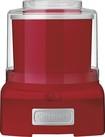 Cuisinart - 1-1/2-Quart Automatic Frozen Yogurt, Ice Cream and Sorbet Maker - Red