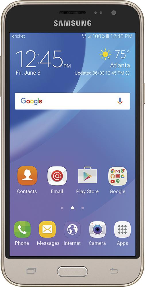 Cricket Wireless - Samsung Galaxy Sol 4g With 8gb Memory Pre