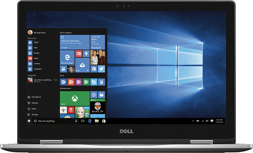 Dell - Inspiron 2-in-1 15.6 Touch-Screen Laptop - Intel Core i5 - 8GB Memory - 256GB Solid State Drive - Gray