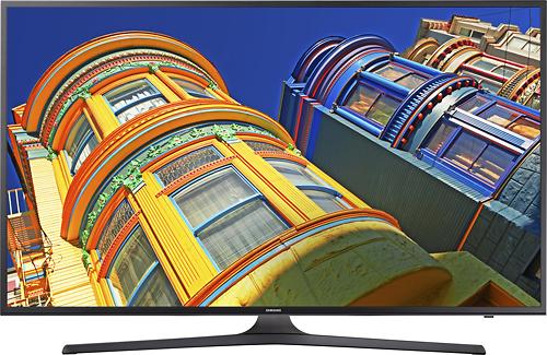 Samsung - 55 Class (54.6 Diag.) - LED - 2160p - Smart - 4K Ultra HD TV - Black