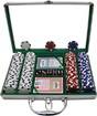 Trademark - 200-Piece 11.5-Gram Poker Chip Set