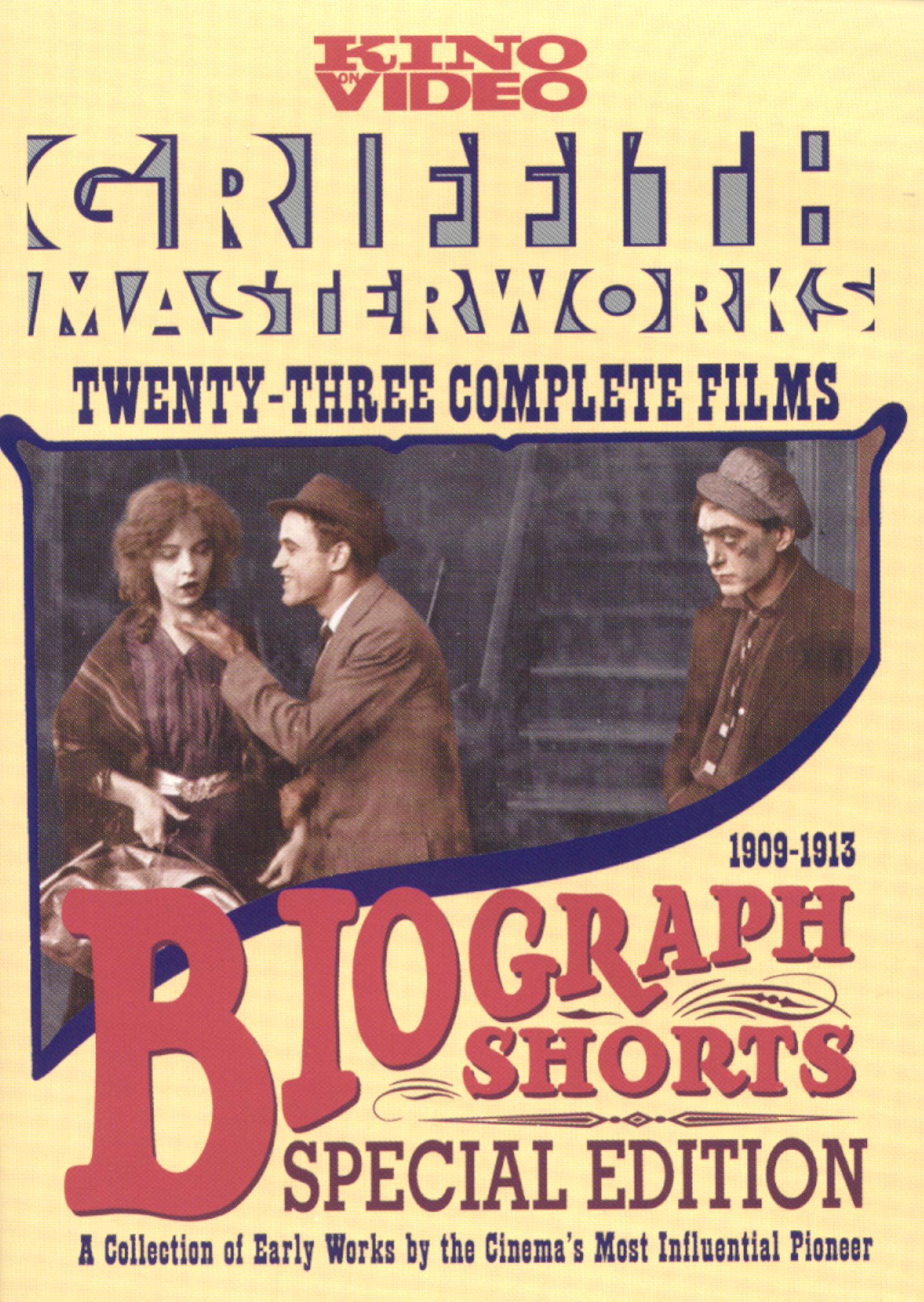 Biograph Shorts: Griffith Masterworks [2 Discs] (dvd) 5219836