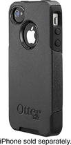 OtterBox - Commuter Series Case for Apple® iPhone® 4 and 4S - Black