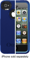 OtterBox - Commuter Series Case for Apple® iPhone® 4 and 4S - Blue