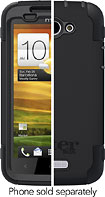 OtterBox - Defender Series Case for HTC One X Mobile Phones - Black