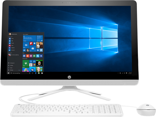 HP - 23.8 Touch-Screen All-In-One - Intel Core i3 - 8GB Memory - 1TB Hard Drive - Black, White