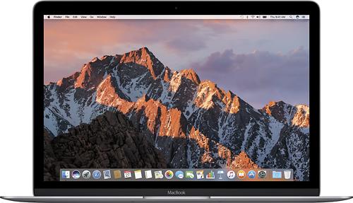 Apple - Macbook® (Latest Model) - 12 Display - Intel Core M5 - 8GB Memory - 512GB Flash Storage - Space Gray