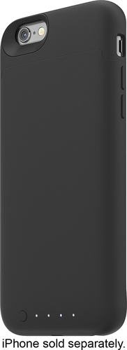 Mophie - Juice Pack Reserve Wireless External Battery Case for Apple iPhone 6 and 6s - Black