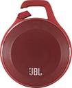 JBL - Clip Portable Bluetooth Speaker - Red