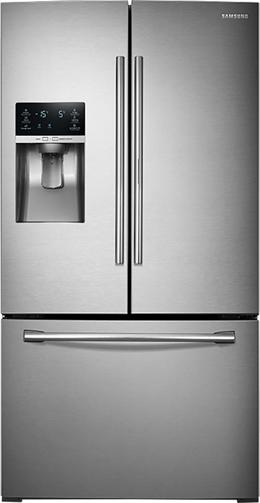 Ft. French Door Refrigerator With Thru The Door Ice And Water   Stainless  Steel At Pacific Sales