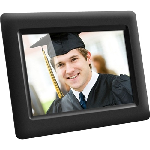 aluratek 7 inch digital photo frame black adpf07sf best buy