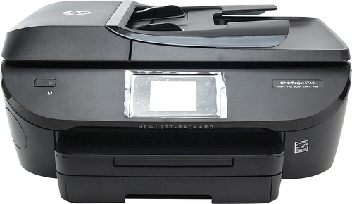HP - Refurbished Officejet 5740 e-All-in-One Wireless All-In-One Printer