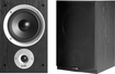 "Polk Audio - 5-1/4"" 2-Way Bookshelf Speakers (Pair) - Black Ash Vinyl"