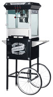 Great Northern Popcorn - Paducah Popcorn Maker with Cart - Black