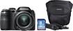Fujifilm - FinePix S4830 16.0-Megapixel Digital Camera Bundle - Black