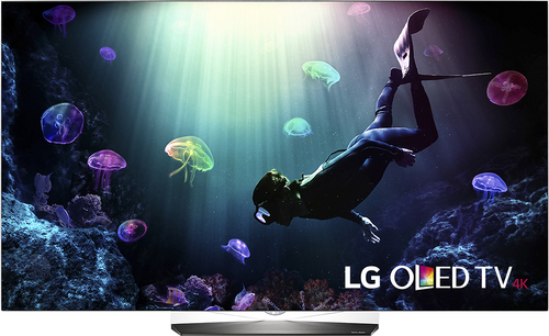 LG - 55 Class - (54.6 Diag.) - Oled - 2160p - Smart - 4K Ultra HD TV - with High Dynamic Range - Silver