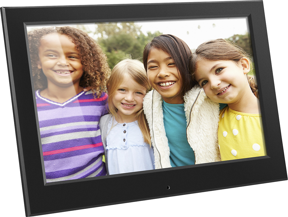 aluratek 101 lcd digital photo frame black asdmpf09 best buy