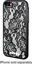 Modal - Case for Apple® iPhone® 5 and 5s - Black/White