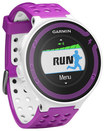 Garmin - Forerunner 220 GPS Watch - White/Violet