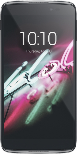 Alcatel - One Touch Idol 3 (5.5) 6045I 4G with 16GB Memory Cell Phone (Unlocked) - Dark gray