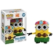 Funko - Pop! Movies: Despicable Me - Hula Minion Figure - Yellow 5260811