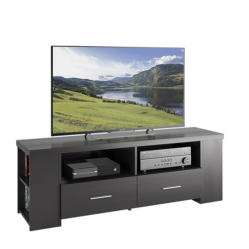 Sonax - TV Stand for TVs Up to 70 - Black