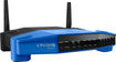 Linksys - AC1200 Smart Wi-Fi Router with 4-Port Ethernet Switch - Blue