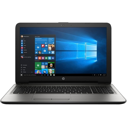HP - 15.6 Touch-Screen Laptop - AMD A8-Series - 6GB Memory - 1TB Hard Drive - Turbo silver