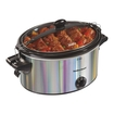 Hamilton Beach - Stay Or Go 5-quart Slow Cooker - Silver 5271107