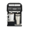 Hamilton Beach - Flexbrew 2-cup Coffeemaker - Black/silver 5271111