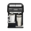 Hamilton Beach - Flexbrew 2-cup Coffeemaker - Black/silver 5271111