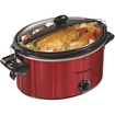 Hamilton Beach - Stay Or Go 5-quart Slow Cooker - Red 5272500