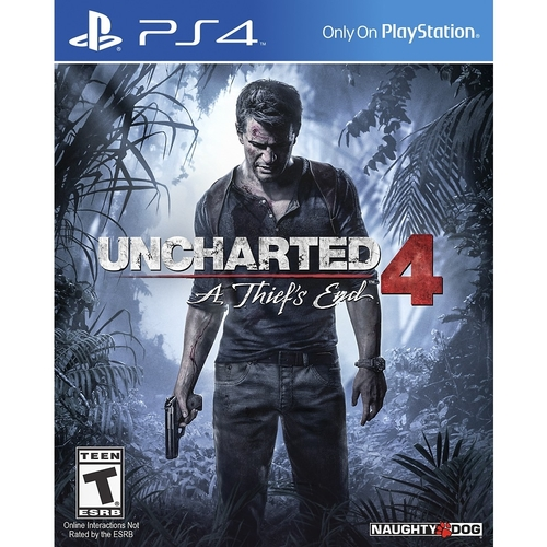 Uncharted 4: A Thief's End - PRE-Owned - PlayStation 4
