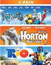 Robots/horton Hears A Who/rio [3 Discs] [blu-ray] 5275348