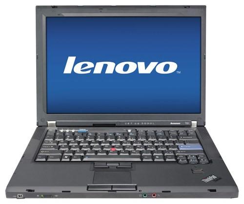 Lenovo - ThinkPad 14.1 Refurbished Laptop - Intel Core2 Duo - 2GB Memory - 100GB Hard Drive - Black