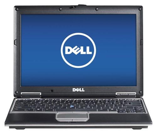 Dell - Latitude 14.1 Refurbished Laptop - Intel Core2 Duo - 2GB Memory - 100GB Hard Drive - Brown/Black