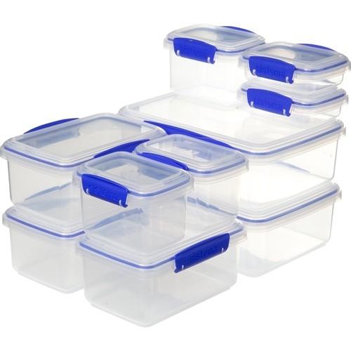 Sistema - KLIP IT™ 10 Pack - Clear/Blue